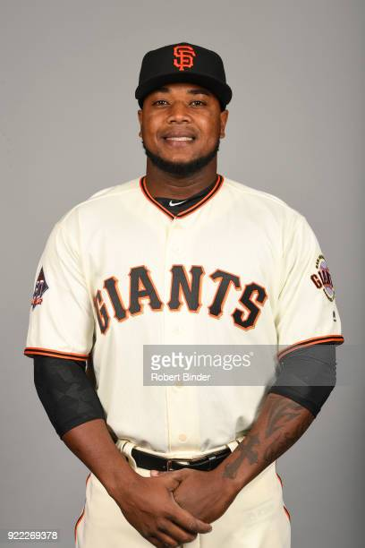 Jose Valdez of the San Francisco Giants poses during Photo Day on Tuesday February 20 2018 at Scottsdale Stadium in Scottsdale Arizona