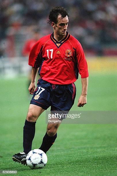 Frankreich St Etienne SPANIEN PARAGUAY 00 Joseba ETXEBERRIA/ESP EINZELAKTION