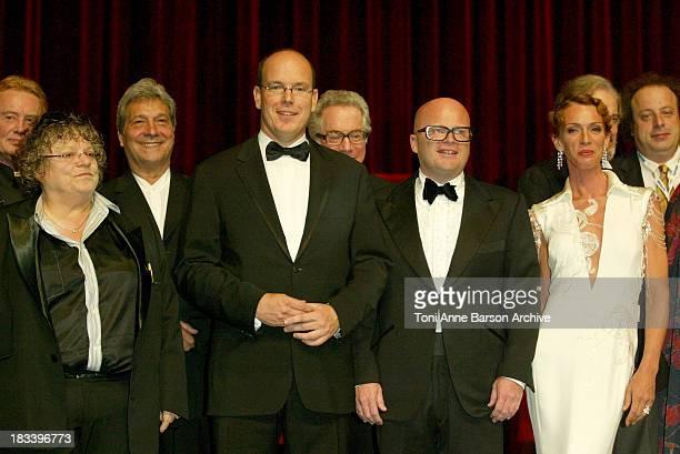 Josee Dayan HS Prince Albert of Monaco Maruschka Detmers