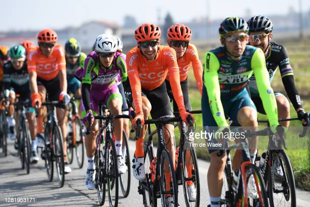 Josef Cerny of Czech Republic and CCC Team / Ilnur Zakarin of Russia and CCC Team / during the 103rd Giro d'Italia 2020, Stage 20 a 190km stage from...