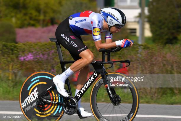 Josef Cerny of Czech Republic and Team Deceuninck - Quick-Step during the 74th Tour De Romandie 2021, Prologue a 4,05km Individual Time Trial stage...