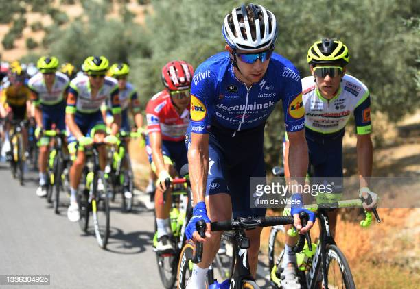 Josef Cerny of Czech Republic and Team Deceuninck - Quick-Step during the 76th Tour of Spain 2021, Stage 11 a 133,6km stage from Antequera to...