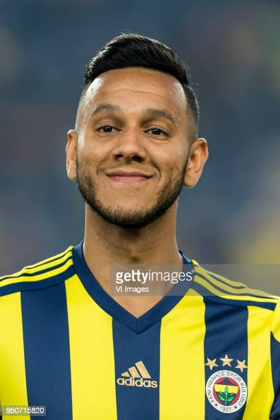 Josef de Souza Dias of Fenerbahce during the Turkish Spor Toto Super Lig match Fenerbahce AS and Antalyaspor AS at the Sukru Saracoglu Stadium on...