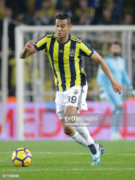 Josef De Souza Dias of Fenerbahce during the Turkish Super lig match between Fenerbahce v Sivasspor at the Sukru Saracoglustadion on November 19 2017...