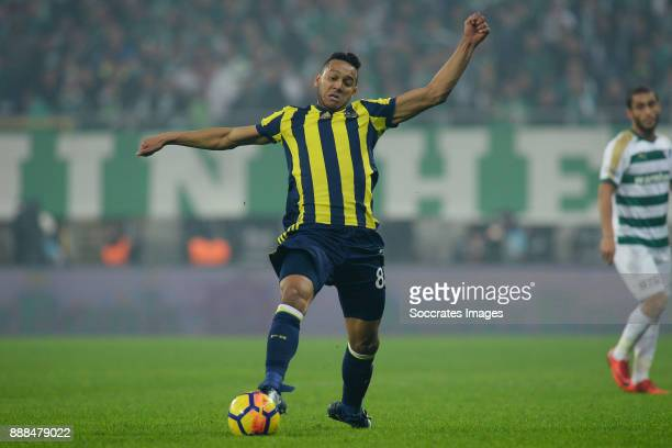 Josef De Souza Dias of Fenerbahce during the Turkish Super lig match between Bursaspor v Fenerbahce at the Timsah Arena on December 8 2017 in Bursa...