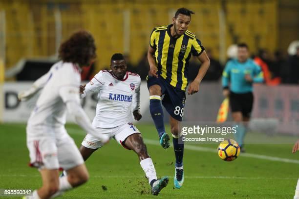 Josef De Souza Dias of Fenerbahce during the Turkish Super lig match between Fenerbahce v Karabukspor at the Sukru Saracoglustadion on December 18...