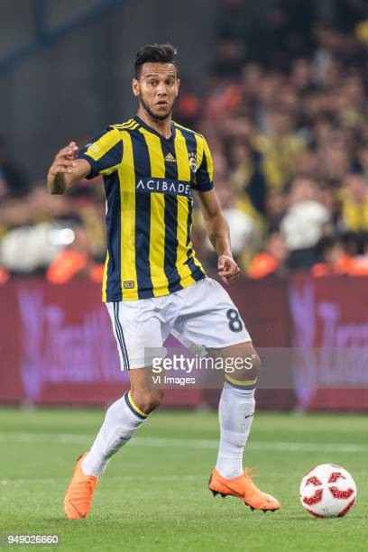 Josef de Souza Dias of Fenerbahce during the Ziraat Turkish Cup match Fenerbahce AS and Besiktas AS at the Sukru Saracoglu Stadium on April 19 2018...