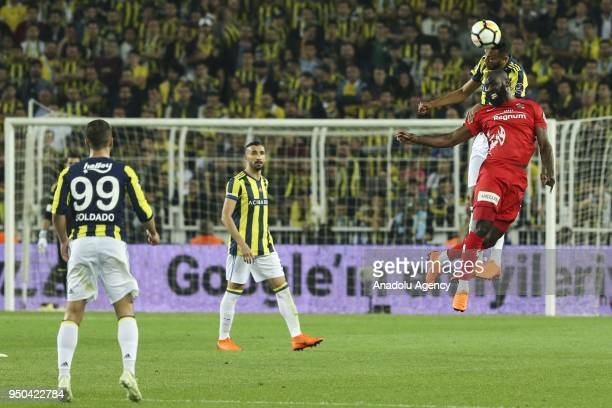 Josef de Souza of Fenerbahce in action during Turkish Super Lig soccer match between Fenerbahce and Antalyaspor at Ulker Stadium in Istanbul Turkey...