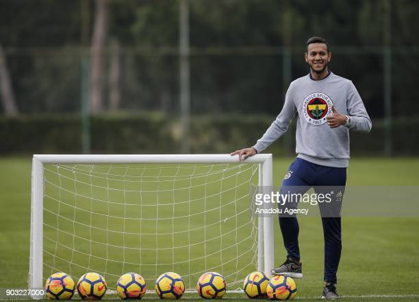 Josef de Souza of Fenerbahce poses for a photo during Fenerbahce's training camp in Antalya Turkey on January 10 2018