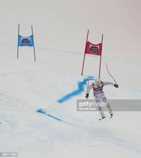 Josef Ferstl of Germany compete in the Audi FIS Alpine Ski World Cup Men's Super G race on December 15 2017 at Val Gardena Italy