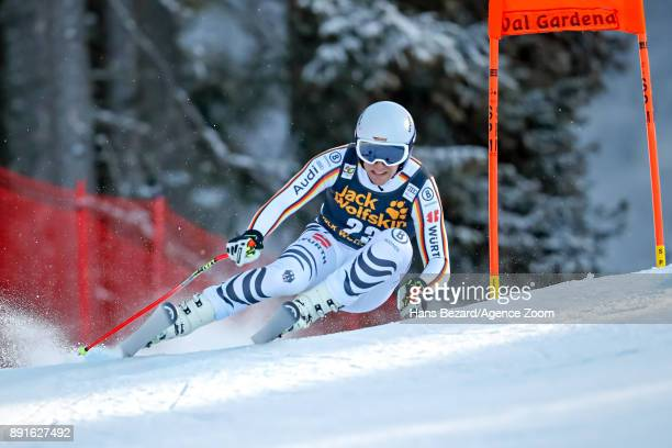Josef Ferstl of Germany competes during the Audi FIS Alpine Ski World Cup Men's Downhill Training on December 13 2017 in Val Gardena Italy