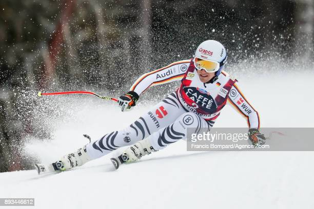 Josef Ferstl of Germany competes during the Audi FIS Alpine Ski World Cup Men's Super G on December 15 2017 in Val Gardena Italy
