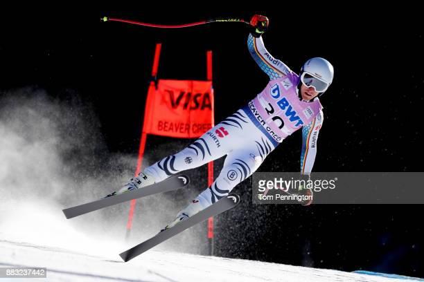 Josef Ferstl of Germany skis during the Audi FIS Alpine Ski World Cup Men's Downhill Training on November 30 2017 in Beaver Creek Colorado
