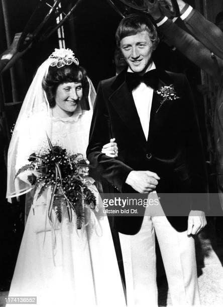 Josef Fuchs und seine Ehefrau Silvia, Hochzeit 1975