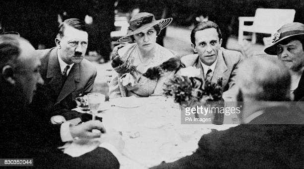 Josef Goebbels with his wife Magda In 1933 Goebbels was brought into the Cabinet by Adolf Hitler as Minister of Propaganda and Public Enlightenment...