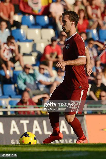 Josef Husbauer of AC Sparta Prague in action during the Gambrinus Liga match between FK Mlada Boleslav and AC Sparta Prague at the Mestsky Stadion on...