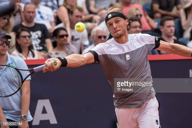 Josef Kovalik in action during the German Tennis Championships at Rothenbaum on July 28 2018 in Hamburg Germany