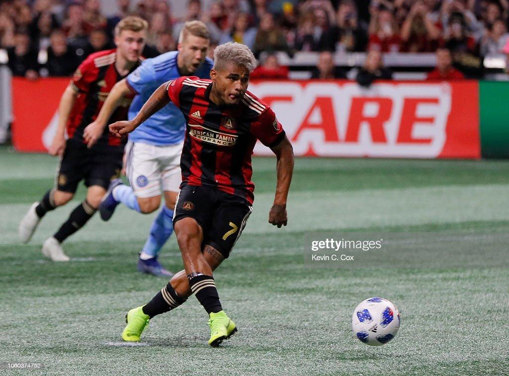 New York City FC v Atlanta United FC: Eastern Conference Semifinals - Leg 2 : News Photo