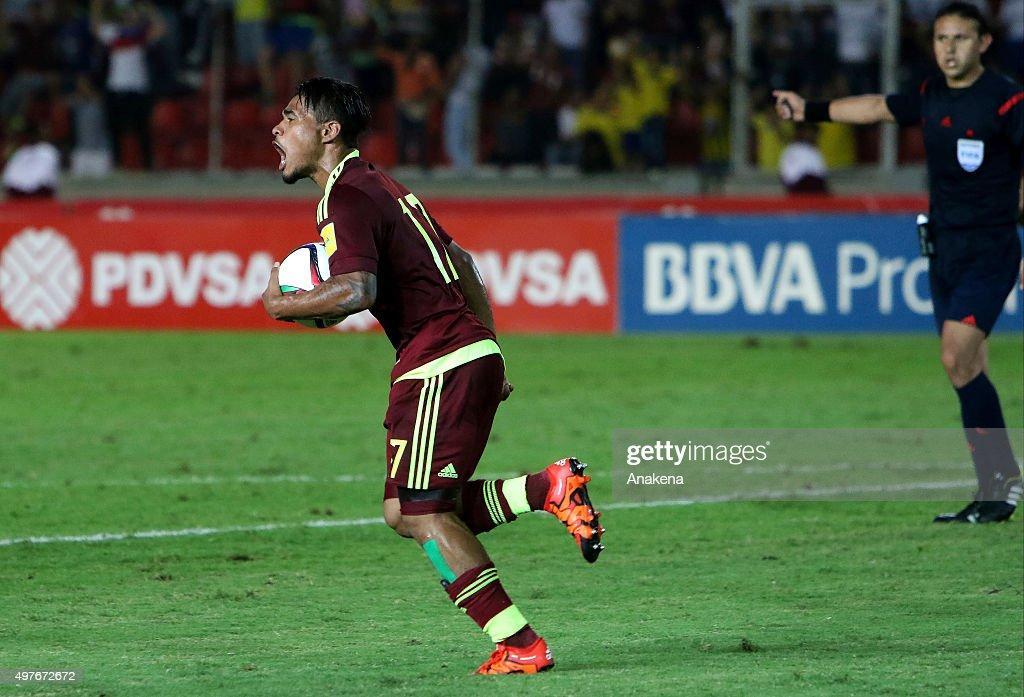 Venezuela v Ecuador - FIFA 2018 World Cup Qualifiers