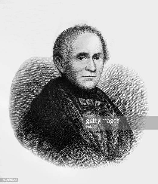 Josef Von Eichendorff german poet engraving