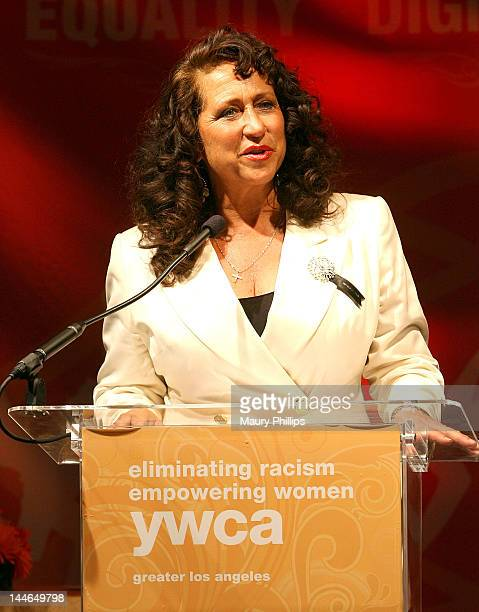 Josefa Salinas speaks at the YWCA Greater Los Angeles 2012 Phenomenal Woman Awards at Omni Los Angeles Hotel on May 16 2012 in Los Angeles California
