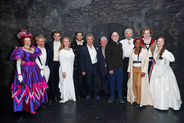 """GBR: """"Les Miserables"""" Re-Opens In The West End - Curtain Call & Backstage"""