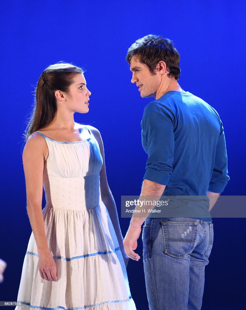Josefina Scaglione and Matt Cavenaugh perform with the cast of 'West Side Story' onstage during the 63rd Annual Tony Awards at Radio City Music Hall on June 7, 2009 in New York City.