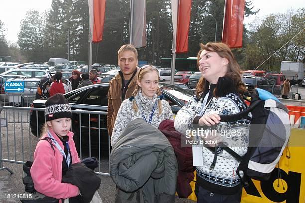 Josefina Vilsmaier Christian Nickel Theresa Vilsmaier Mutter Dana Vavrova Uraufführung vom Kinofilm Bergkristall Premiere BludenzNuziders/Vorarlberg/...