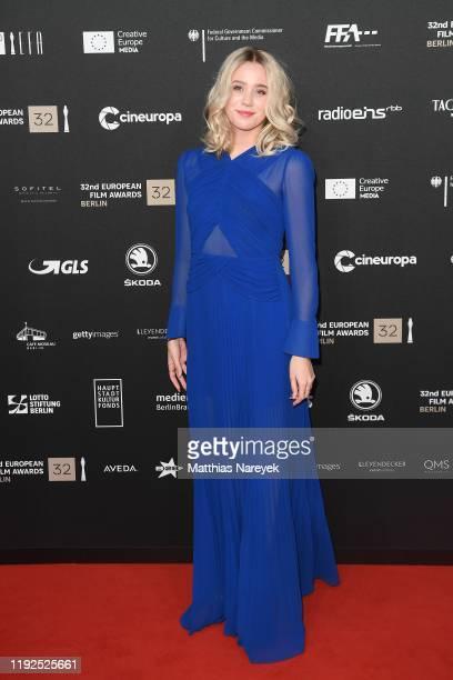 Josefine Frida attends the 32nd European Film Awards at Haus Der Berliner Festspiele on December 07 2019 in Berlin Germany