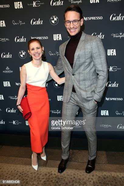 Josefine Preuss and Vladimir Burlakov during the Berlin Opening Night by GALA and UFA Fiction at Das Stue on February 15 2018 in Berlin Germany