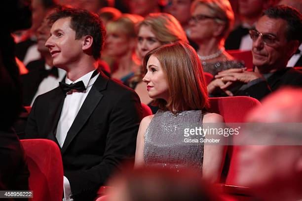 Josefine Preuss is seen in the audience during the Bambi Awards 2014 show on November 13 2014 in Berlin Germany