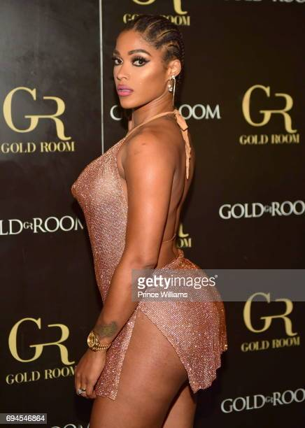 Joseline Hernadez Hosts a Party at Gold Room on June 10 2017 in Atlanta Georgia