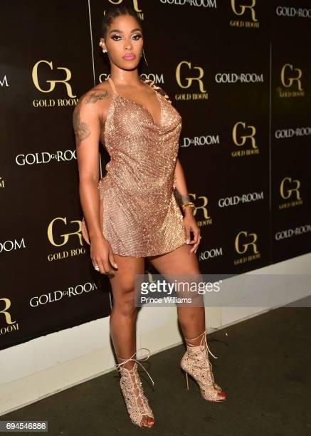 Joseline Hernadez Hosts a Party at Gold Room on June 10 2017 in Atlanta Georgia