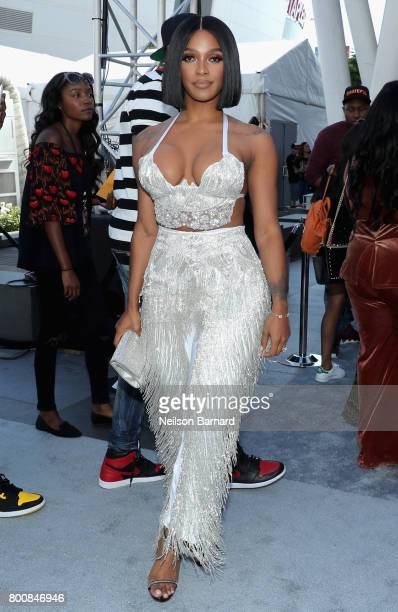 Joseline Hernandez at Live Red Ready PreShow at the 2017 BET Awards at Microsoft Square on June 25 2017 in Los Angeles California