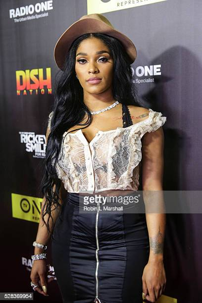 Joseline Hernandez attends 'Rickey Smiley For Real' Atlanta premiere red carpet and screening at SCADshow on May 4 2016 in Atlanta Georgia