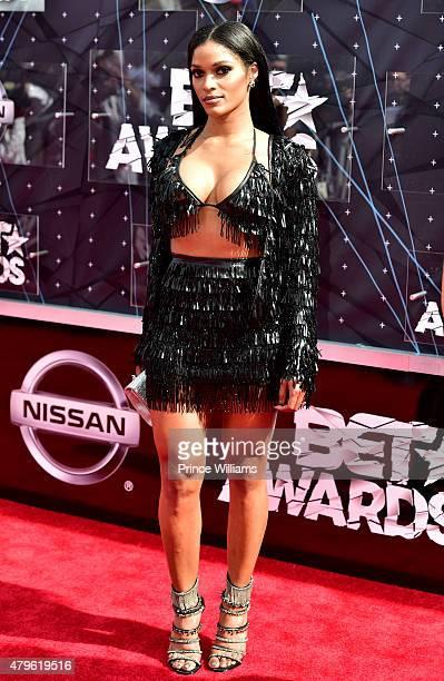 Joseline Hernandez attends the 2015 BET Awards on June 28 2015 in Los Angeles California