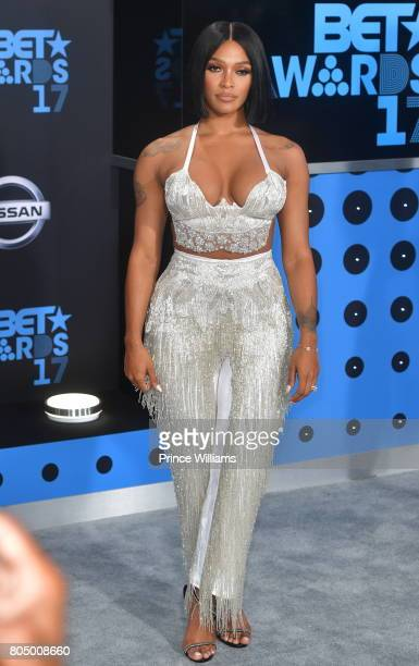 Joseline Hernandez attends the 2017 BET Awards at Microsoft Theater on June 25 2017 in Los Angeles California