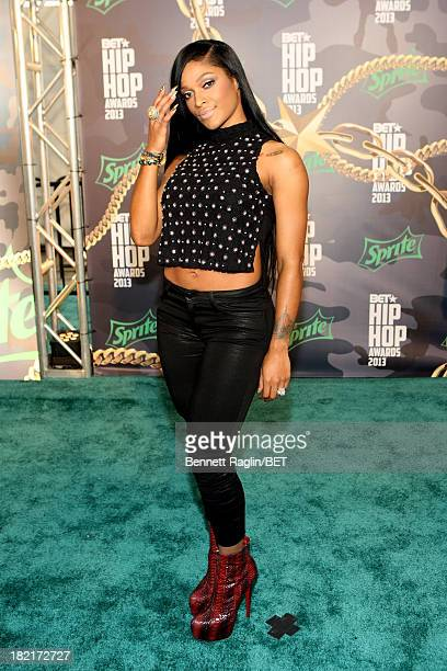 Joseline Hernandez attends the BET Hip Hop Awards 2013 at Boisfeuillet Jones Atlanta Civic Center on September 28 2013 in Atlanta Georgia