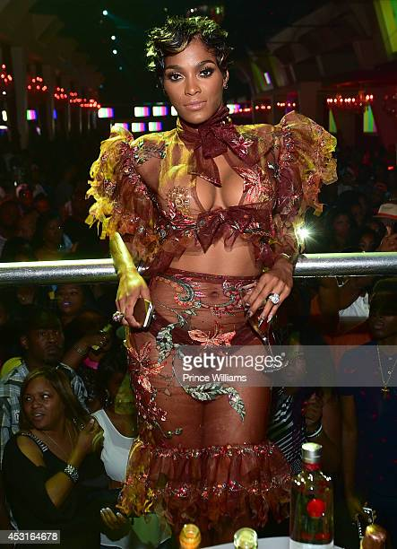Joseline Hernandez attends the Bronner Brothers official after party at Velvet Room on August 3 2014 in Chamblee Georgia