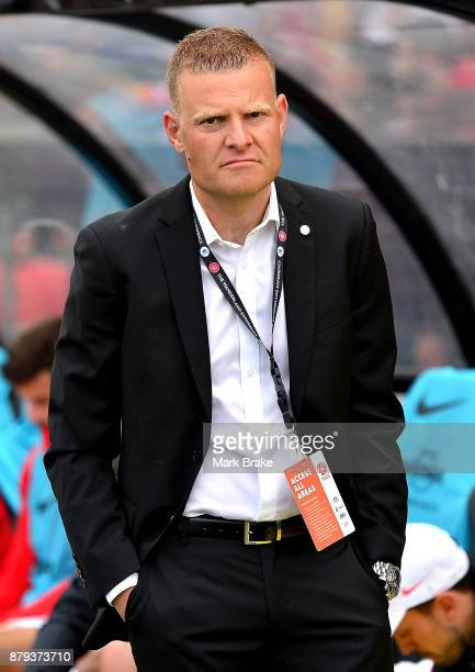 Josep Gombau coach of Western Sydney Wanderers before the round eight ALeague match between Adelaide United and the Western Sydney Wanderers at...