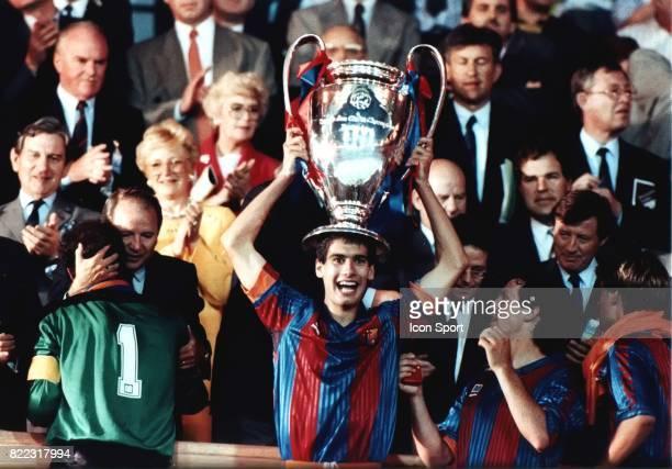 Josep GUARDIOLA Barcelone / Sampdoria de Genes Champions League Finale Londres