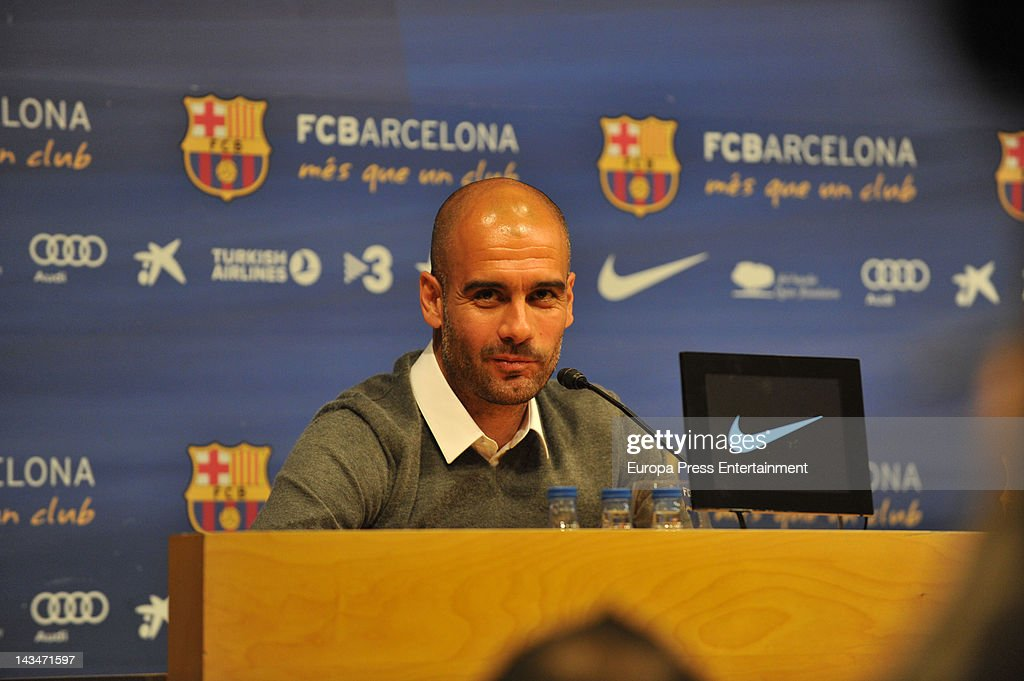 Josep Guardiola Not Renewing His Barcelona Contract : ニュース写真