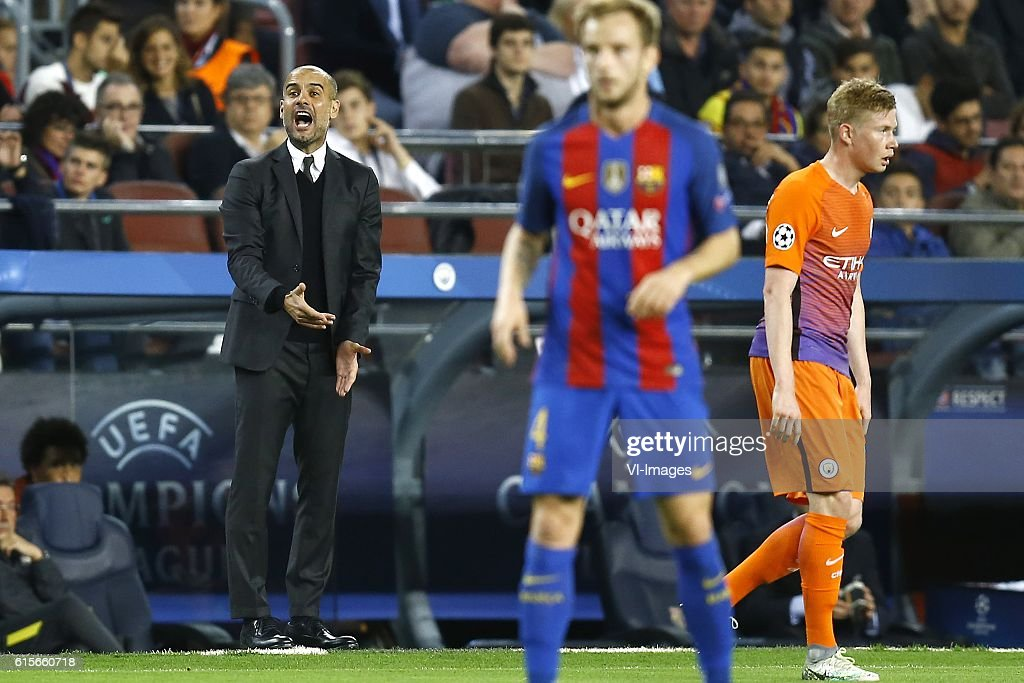 "UEFA Champions League""FC Barcelona v Manchester City"" : News Photo"