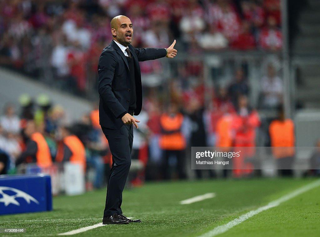 FC Bayern Muenchen v FC Barcelona  - UEFA Champions League Semi Final : News Photo
