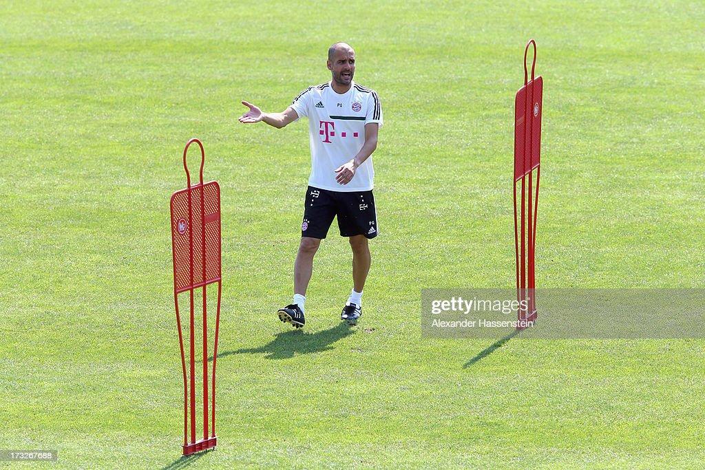 FC Bayern Muenchen - Training Camp Day Eight : News Photo