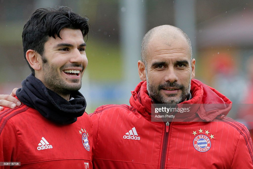FC Bayern Training and Press Conference : News Photo