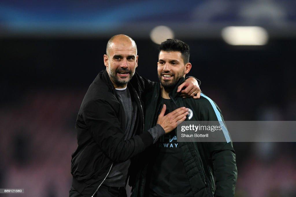 SSC Napoli v Manchester City - UEFA Champions League : News Photo