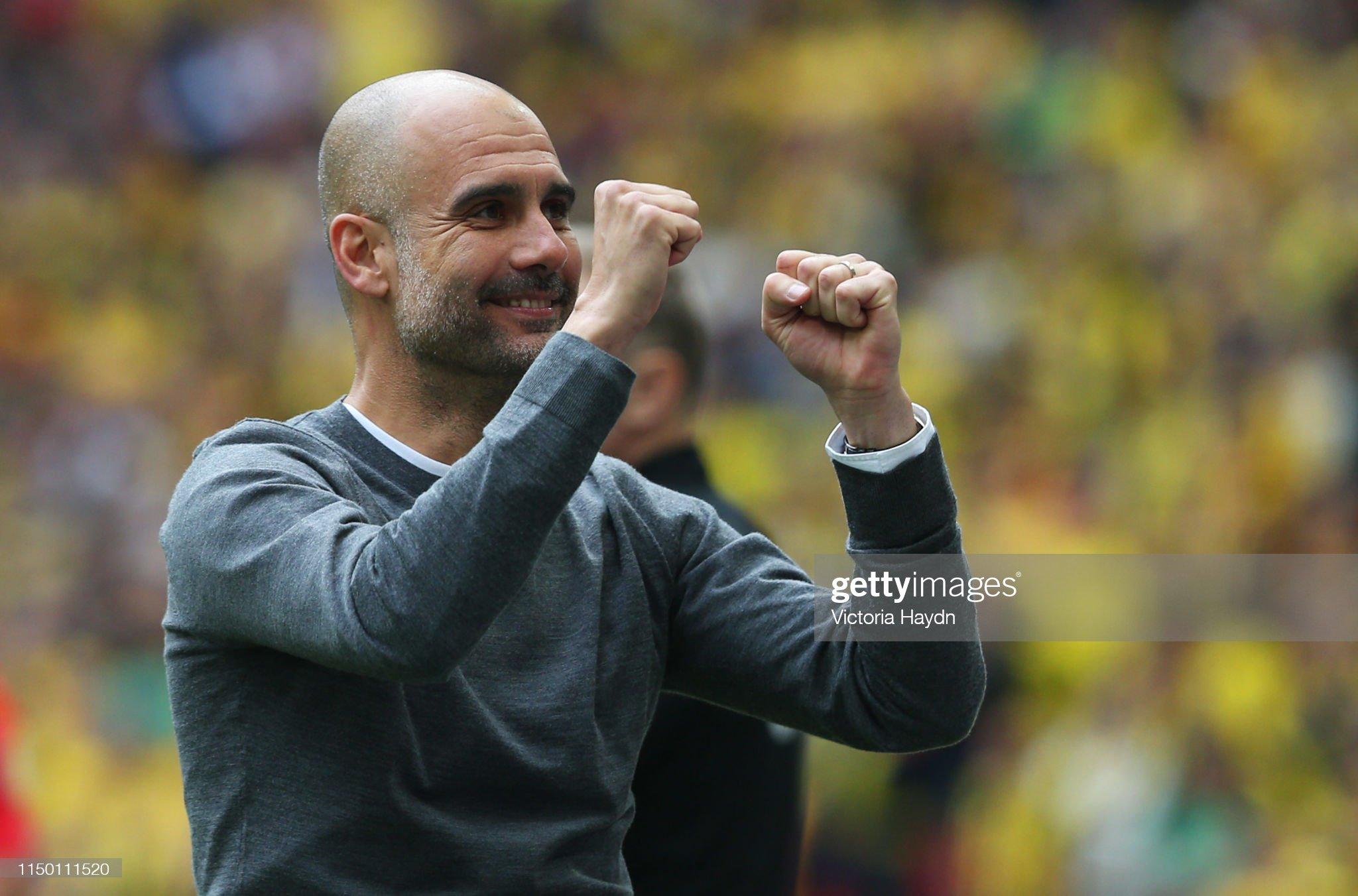 Manchester City v Watford - FA Cup Final : Fotografia de notícias