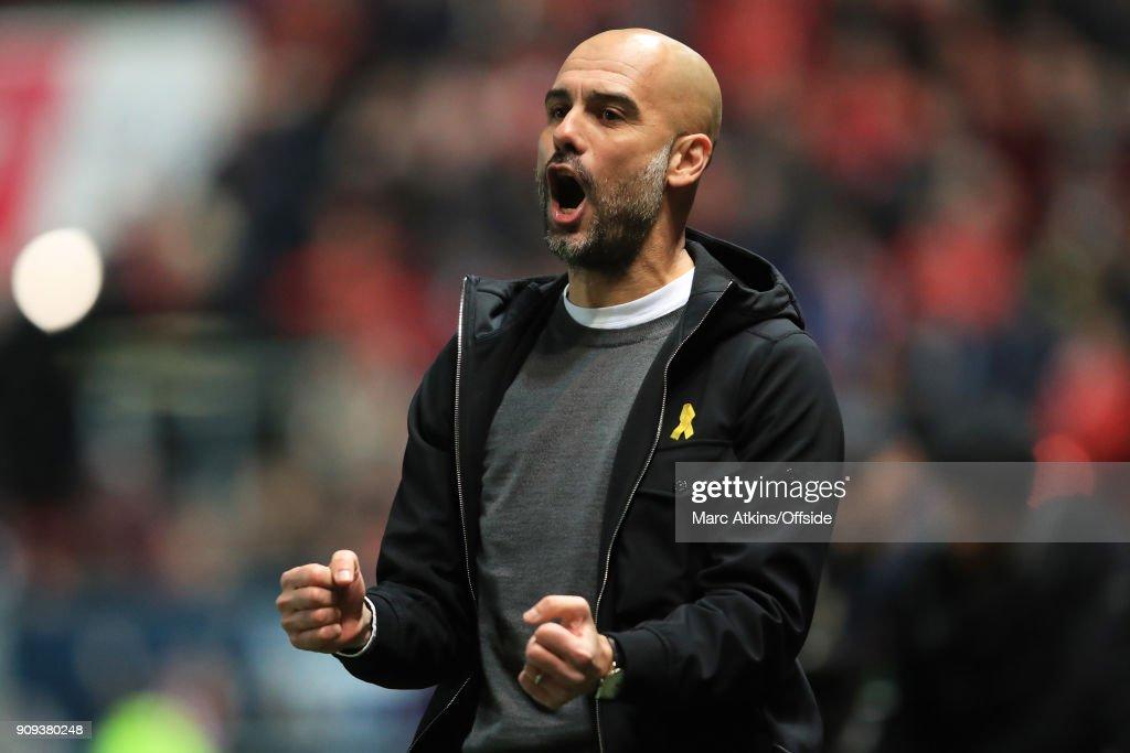 Bristol City v Manchester City - Carabao Cup Semi-Final: Second Leg : News Photo