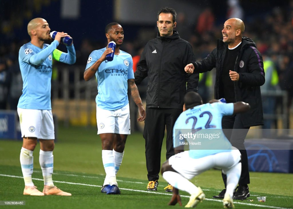 FC Shakhtar Donetsk v Manchester City - UEFA Champions League Group F : News Photo